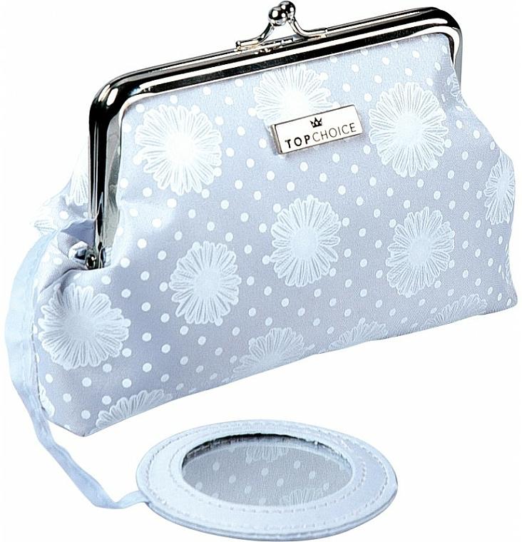 """Makeup Bag """"C&D"""", 97959, grey - Top Choice — photo N1"""
