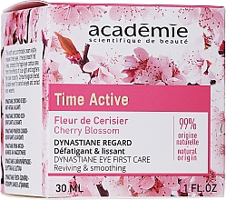 Fragrances, Perfumes, Cosmetics Smoothing Eye Cream - Academie Time Active Cherry Blossom Dynastiane Eye First Care