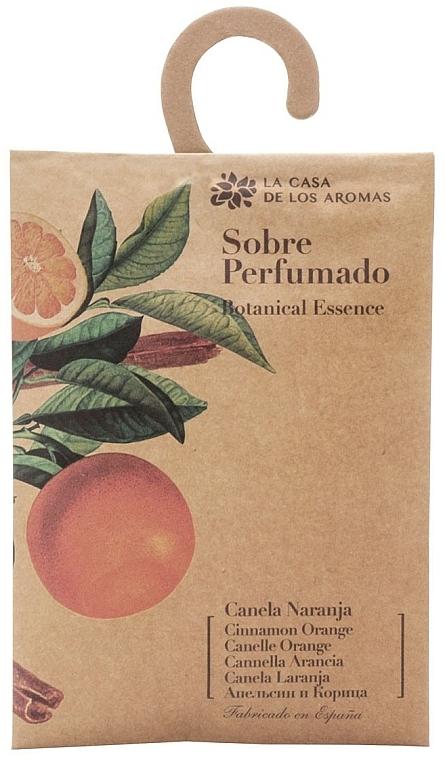 """Scented Sachet """"Orange & Cinnamon"""" - La Casa de Los Botanical Essence Cinnamon Orange"""