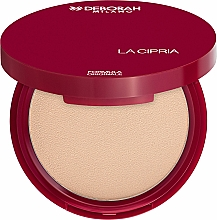 Fragrances, Perfumes, Cosmetics Compact Powder - Deborah La Cipria