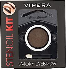 Fragrances, Perfumes, Cosmetics Brow Styling Kit - Vipera Stencil Kit Smoky Eyebrow