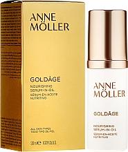 Fragrances, Perfumes, Cosmetics Nourishing Face Serum - Anne Moller Goldage Nourishment Serum-in-Oil
