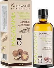 Fragrances, Perfumes, Cosmetics Repairing Hair Oil - Kosswell Professional Macadamia Oil