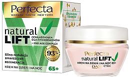 Fragrances, Perfumes, Cosmetics Anti-Wrinkle Face Cream 65+ - Perfecta Natural Lift Regenerating Anti-wrinkle Cream