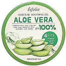 Fragrances, Perfumes, Cosmetics Moisturizing Aloe Gel - Esfolio Moisture Soothing Gel Aloe Vera 100% Purity