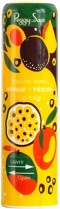 "Lip Balm ""Mango"" - Peggy Sage Mango Passion Lip Balm"