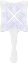 Fragrances, Perfumes, Cosmetics Detangler Brush - Ikoo Paddle X Classic Platinum White