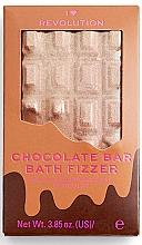 "Fragrances, Perfumes, Cosmetics Bath Bomb - I Heart Revolution Chocolate Bar Bath Fizzer ""Chocolate"""