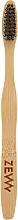 Fragrances, Perfumes, Cosmetics Bamboo Kids Toothbrush, 14 cm - Zew Bamboo Toothbrush