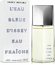 Issey Miyake Leau Bleue DIssey Eau Fraiche - Eau de Toilette — photo N2