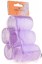 "Fragrances, Perfumes, Cosmetics Velcro Hair Curlers ""Velcro"" diameter 41 mm, 5 pcs, 0416 - Top Choice"