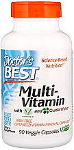 Fragrances, Perfumes, Cosmetics Multivitamins with Vitashine D3 & Quatrefolic, capsules - Doctor's Best