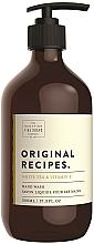 Fragrances, Perfumes, Cosmetics Liquid Hand Soap - Scottish Fine Soaps Original Recipes White Tea & Vitamin E Hand Wash