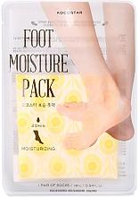 Fragrances, Perfumes, Cosmetics Moisturizing Foot Care-Mask - Kocostar Foot Moisture Pack Yellow