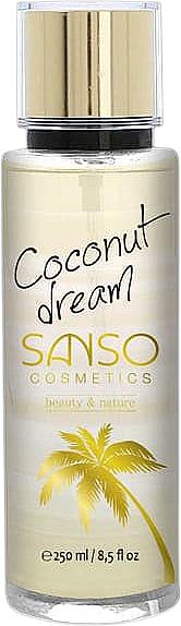 "Body Spray ""Coconut Dream"" - Sanso Cosmetics Coconut Dream Body Spray"