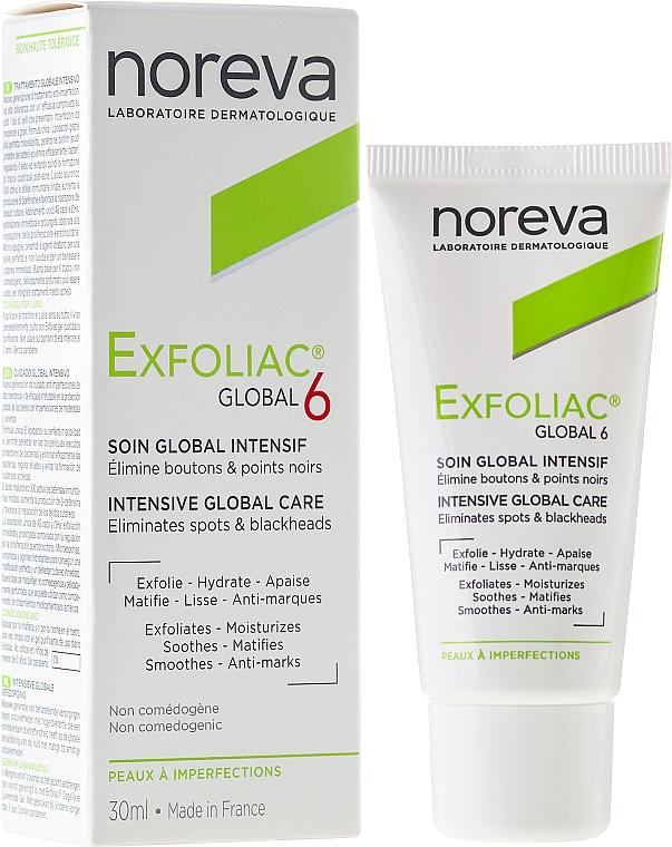 Face Cream - Noreva Exfoliac Global 6 Severe Imperfections Cream