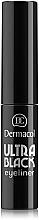 Fragrances, Perfumes, Cosmetics Eyeliner - Dermacol Ultra Black Eyeliner