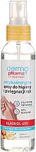 "Fragrances, Perfumes, Cosmetics Antibacterial Hand Spray ""Peach"" - Dermo Pharma Antibacterial Hand Spray"