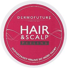 Fragrances, Perfumes, Cosmetics Scalp Peeling - DermoFuture Hair&Scalp Peeling