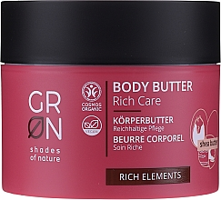 Fragrances, Perfumes, Cosmetics Body Butter - GRN Rich Elements Shea Body Butter