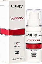 Fragrances, Perfumes, Cosmetics Moisturizing Restoring Face Serum - Christina Comodex Hydrate & Restore Serum