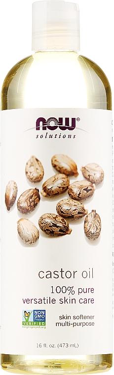 Castor Oil - Now Foods Solution Castor Oil