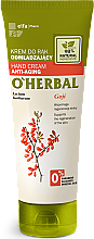 Fragrances, Perfumes, Cosmetics Rejuvenating Hand Cream with Goji Berry Extract - O'Herbal Rejuvenating Hand Cream With Goji Berry Extract