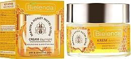 Fragrances, Perfumes, Cosmetics Nourishing Moisturizing Face Cream - Bielenda Manuka Honey Nutri Elixir Day/Night Cream