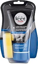Fragrances, Perfumes, Cosmetics Men Shower Depilatory Cream for Sensitive Skin - Veet Men Silk & Fresh Hair Removal Cream