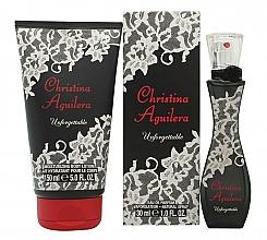 Fragrances, Perfumes, Cosmetics Christina Aguilera Unforgettable - Set (edp/30ml + b/lot/150ml)
