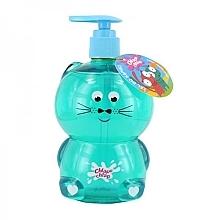 "Fragrances, Perfumes, Cosmetics Kids Shower Gel ""Cat"" - Chlapu Chlap Bath & Shower Gel"