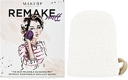 "Fragrances, Perfumes, Cosmetics Makeup Remover Glove, milky ""ReMake"" - MakeUp"