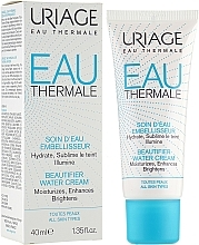 Fragrances, Perfumes, Cosmetics Illuminating & Moisturizing Face Cream - Uriage Eau Thermale Beautifier Water Cream