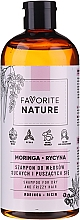 Fragrances, Perfumes, Cosmetics Shampoo for Dry & Wavy Hair - Favorite Nature Shampoo For Dry And Frizzy Hair Moringa & Ricin