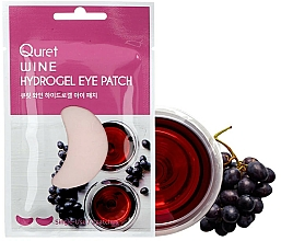 Fragrances, Perfumes, Cosmetics Eye Patches - Quret Wine Hydrogel Eye Patch