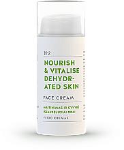 "Fragrances, Perfumes, Cosmetics Face Cream ""Nourish & Vitalise"" - You & Oil Nourish & Vitalise Dehydrated Skin Face Cream"