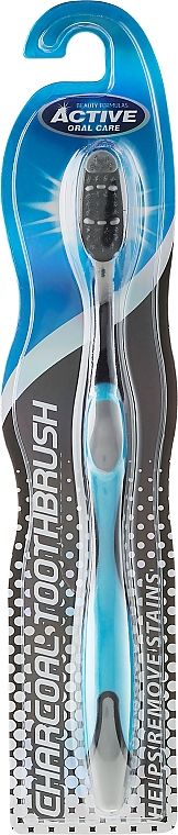 Charcoal Toothbrush - Beauty Formulas Charcoal Toothbrush