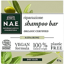 Fragrances, Perfumes, Cosmetics Solid Shampoo for Dry Hair - N.A.E. Repairing Shampoo Bar