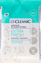 Fragrances, Perfumes, Cosmetics Intimate Wipes, 10 pcs - Cleanic Intensive Care Wipes