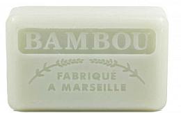 "Fragrances, Perfumes, Cosmetics Marseilles Soap ""Bamboo"" - Foufour Savonnette Marseillaise Bambou"