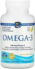 "Fragrances, Perfumes, Cosmetics Dietary Supplement with Lemon Flavor ""Omega-3"" - Nordic Naturals Omega-3 Lemon"