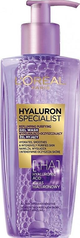 Replumping Gel Wash - L'Oreal Paris Hyaluron Expert