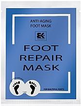 Fragrances, Perfumes, Cosmetics Moisturizing Foot Mask - Brazil Keratin Foot Rapair Mask