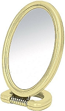 Fragrances, Perfumes, Cosmetics Oval Double-Sided Stand Mirror, 11x15 cm - Donegal Mirror