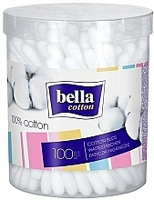 Fragrances, Perfumes, Cosmetics Cotton Buds - Bella (round can)