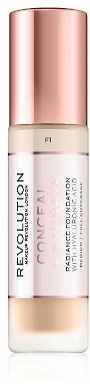 Foundation - Makeup Revolution Conceal & Hydrate Foundation