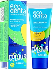 Fragrances, Perfumes, Cosmetics Kids Toothpaste - Ecodenta Cavity Fighting Kids Toothpaste