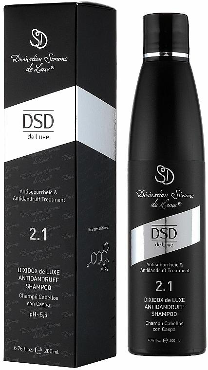Dixidox DeLuxe Anti-Dandruff Shampoo #2. - Divination Simone De Luxe Dixidox DeLuxe Antidandruff Shampoo — photo N1
