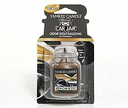 "Fragrances, Perfumes, Cosmetics Car Air Freshener ""Car Scent"" - Yankee Candle New Car Scent Jar Ultimate"