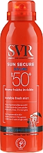 Fragrances, Perfumes, Cosmetics Sunscreen Spray - SVR Sun Secure Brume Invisible Fresh Mist SPF 50